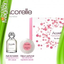 Set cadou ORCHIDEE BLANCHE 50ml +100g