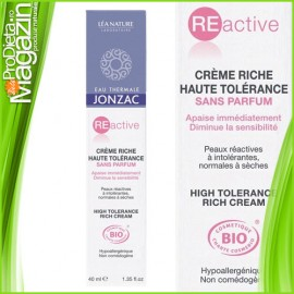 Reactive - Crema bio ten sensibil si reactiv 40ml