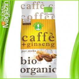 Cafea Bio cu extract Ginseng 250g
