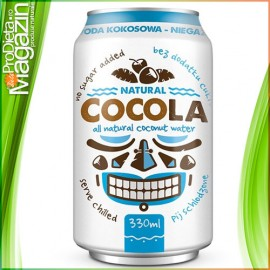 CocoLa Apa de cocos naturala Isotonic Natural 330ml