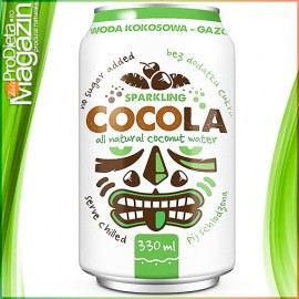 CocoLa apa de cocos acidulata isotonic natural 330ml