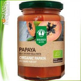 Gem exotic de PAPAYA BIO fara zahar 330 gr
