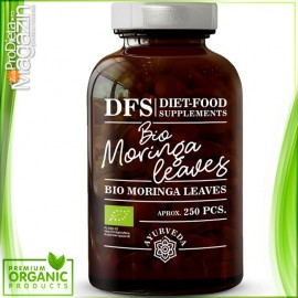 Bio Moringa - 250 tablete x 500mg -125g