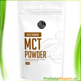 Ulei de cocos MCT pulbere 100 g ptr Shake, Smoothie, preparate