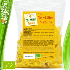 Chips-uri tortilla nature fara gluten 125 gr