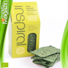 Raw Vegan Crackers Bio Wasabi 100 gr
